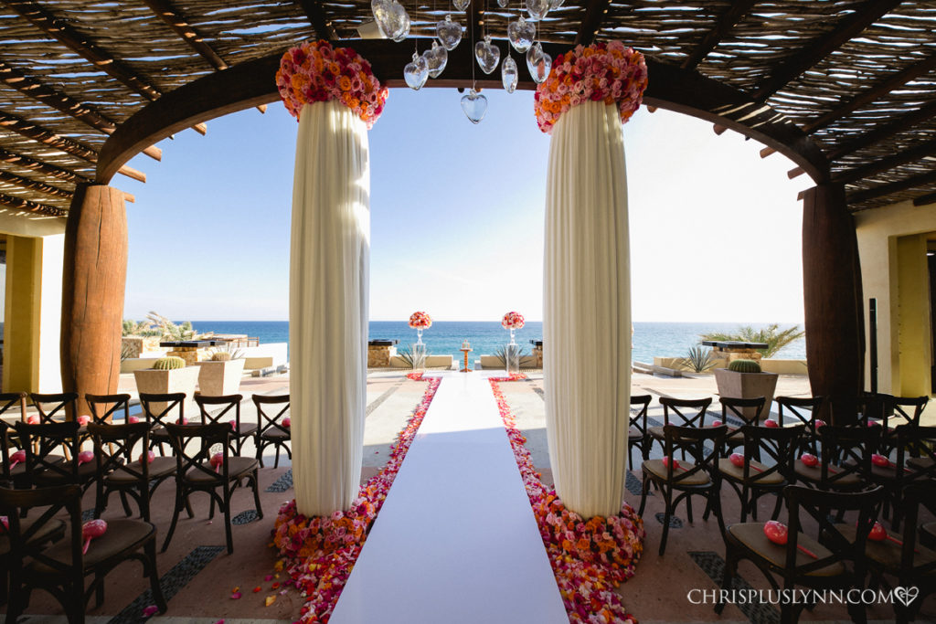 Destination wedding in Pedregal Mexico