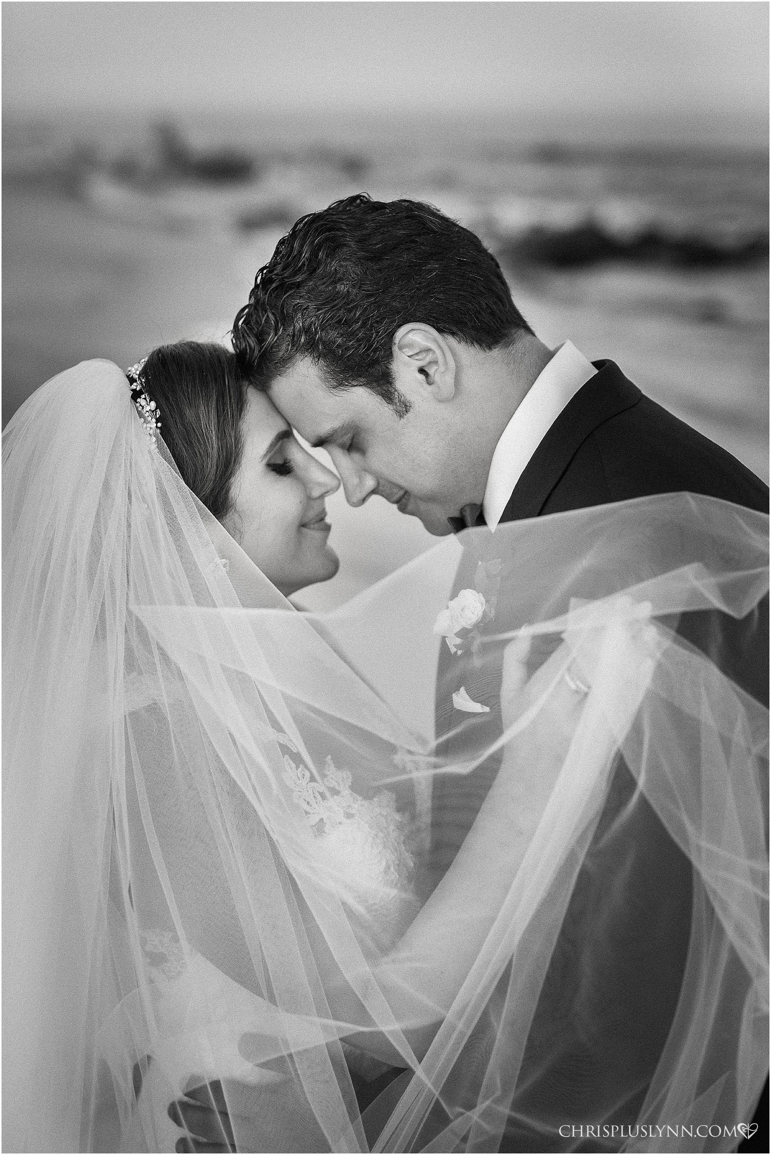 Cabo del Sol Wedding | Bride and Groom Portrait