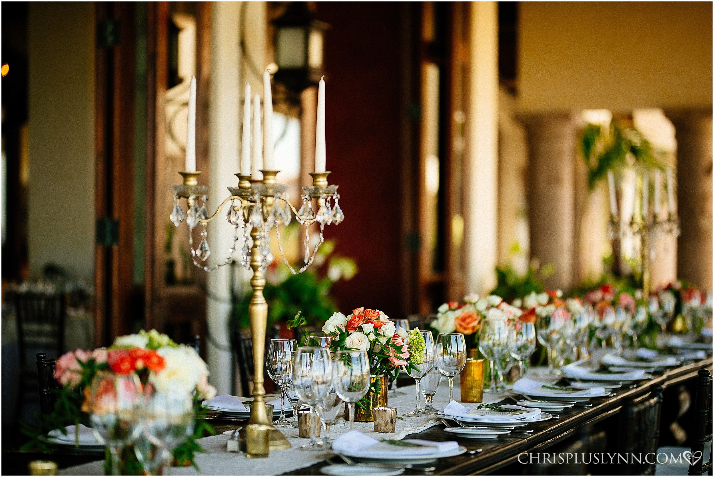 Cabo del Sol Wedding | Colorful and luxurious reception wedding decor