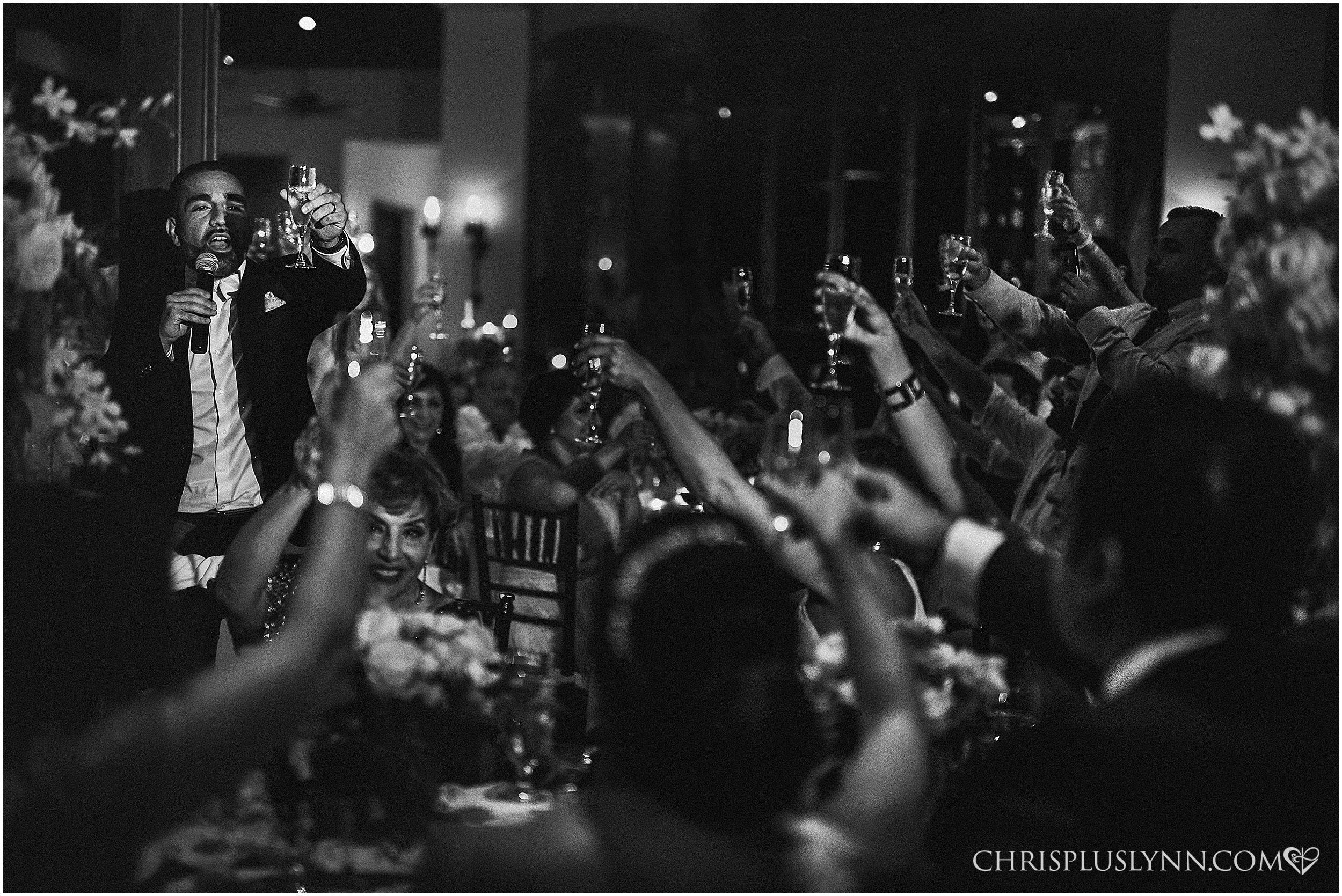 Cabo del Sol Wedding | Reception toasts