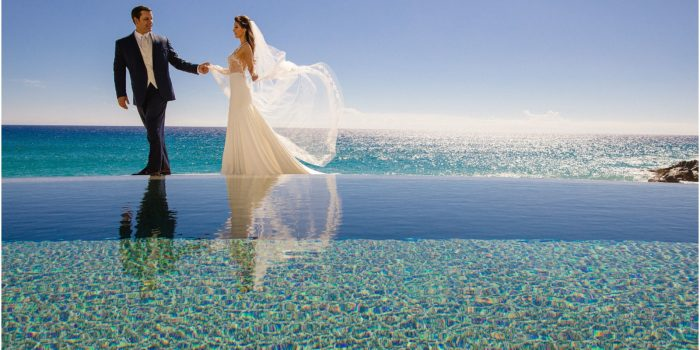 A+B | Glam Black Tie Wedding at The Resort at Pedregal